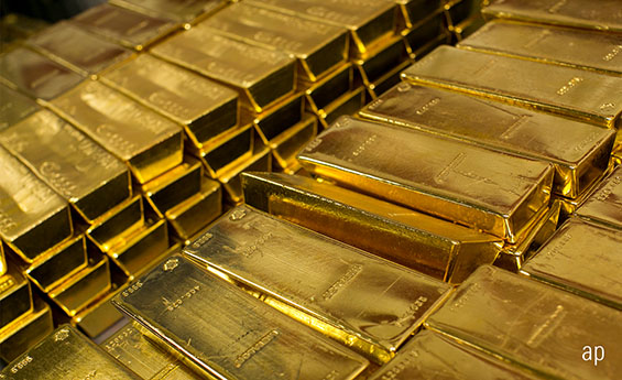 Gold bars, gold price, Brexit, protection