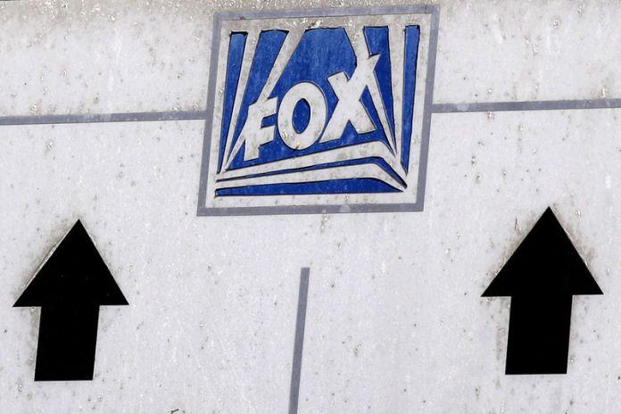 © Reuters. FILE PHOTO: The Twenty-First Century Fox Studios logo is seen in Los Angeles