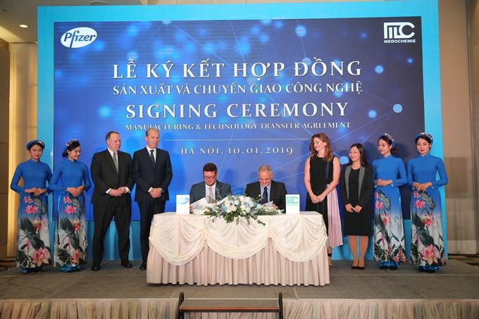 Pfizer inks tech deal with VN company - Economy - Vietnam