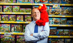 Gary Grant, managing director of The Entertainer toy shop.