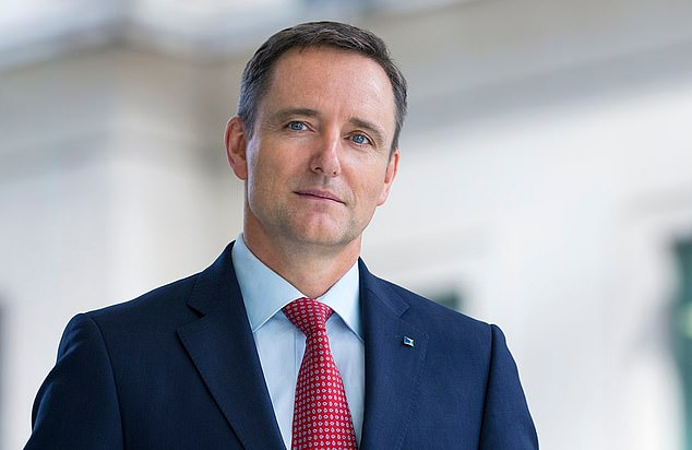 Change: Andy Briggs, chief executive of the firm¿s UK insurance division, and Maurice Tulloch, CEO of international insurance, are frontrunners to replace ousted Mark Wilson (pictured)