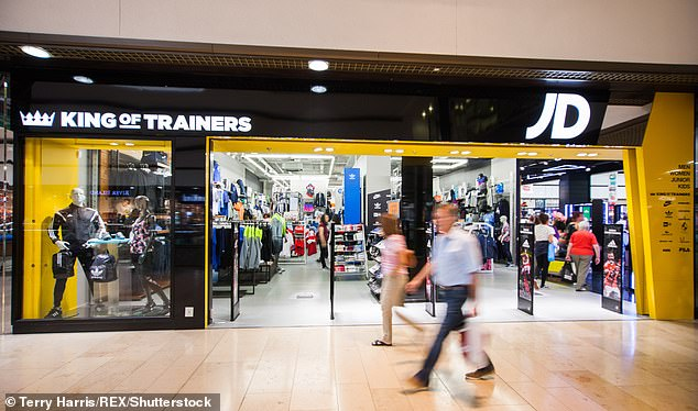 Shares in struggling Footasylum almost doubled after rival JD Sports splashed out £4.3 million on an 8.3 per cent stake in the business