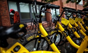 Last month ofo shut its international division and has laid off thousands of staff.