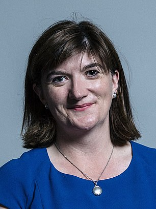 Treasury Committee chair Nicky Morgan called the Government's continued cherry picking 'grossly unfair'