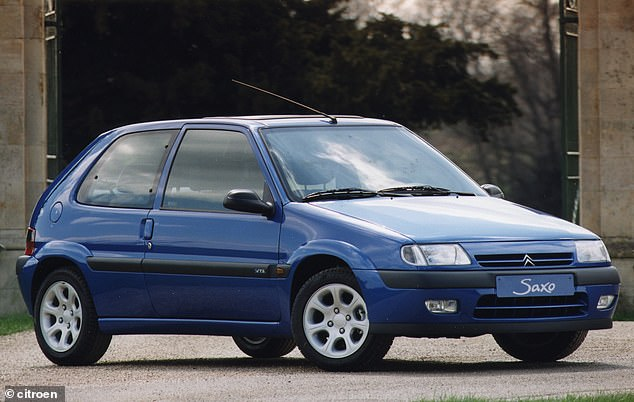 The Citroen Saxo is the model second most likely to be in an accident, says the comparison site. Around 17,000 remain on the road today