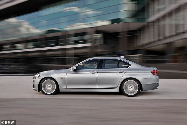 Some 85 in every 10,000 BMW 530Ds were involved in crashes in 2016, Gov.uk figures showed