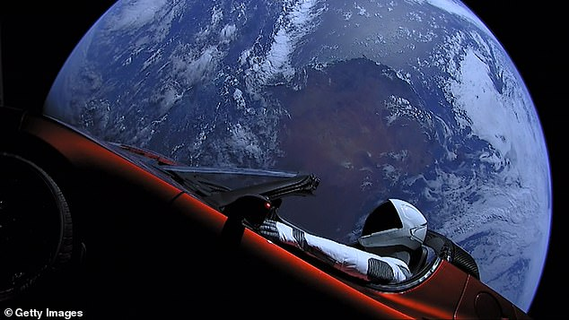 A livestream of Starman's journey showed incredible views of the dummy traveling through space following the launch