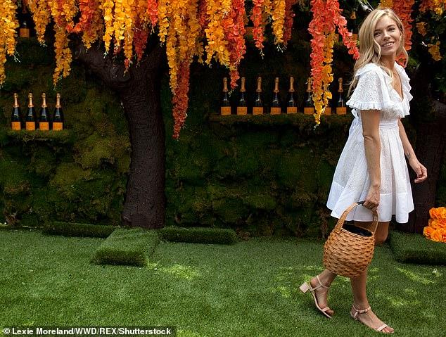 Breaks: Investors included actress Sienna Miller