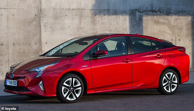 Crash-happy cars: The Toyota Prius has the highest accident rates of any model, based on government data for 2016