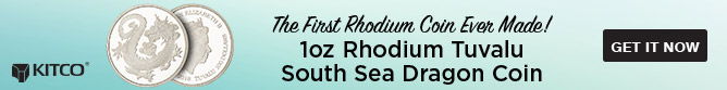 Rhodium Dragon Coin