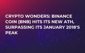 Crypto Wonders: Binance Coin (BNB) Hits Its New ATH, Surpassing Its January 2018's Peak