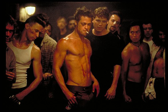 Fight Club, starring Brad Pitt