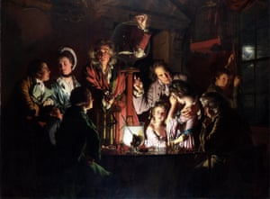 An Experiment on a Bird in an Air Pump by Joseph Wright of Derby, 1768.