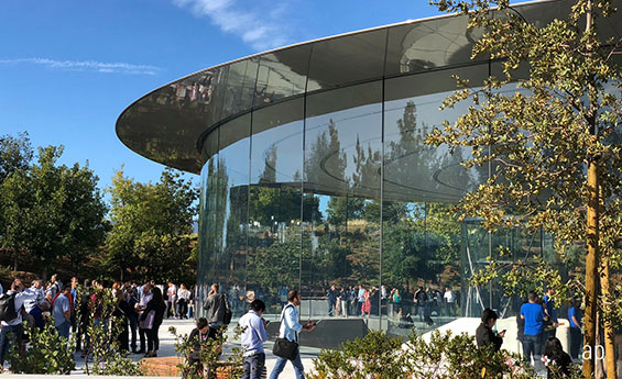 Apple campus, Silicon Valley, tech stocks, dual-class share structures, corporate governance, ESG, Lyft IPO, Uber, Pinterest, Facebook, Google, Berkshire Hathaway