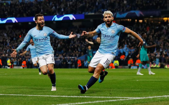 © Reuters. Champions League Quarter Final Second Leg - Manchester City v Tottenham Hotspur