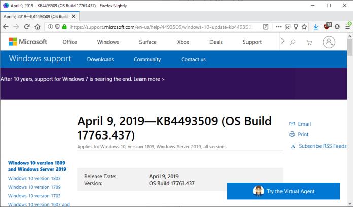 windows server 2016 standard 1809 download