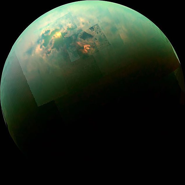 Beyond our planet, Titan (pictured in near-infrared, as seen by NASA's Cassini spacecraft) is the only solar system body on the surface of which liquid matter can be stable