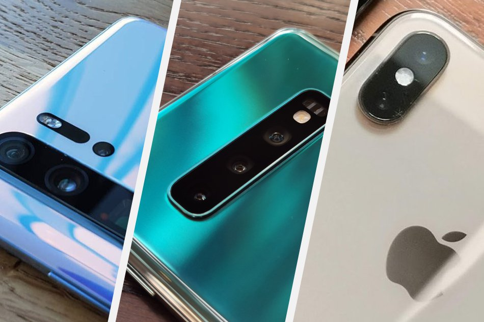 Flagship monsters: Huawei P30 Pro, Samsung S10+, Apple iPhone XS Max