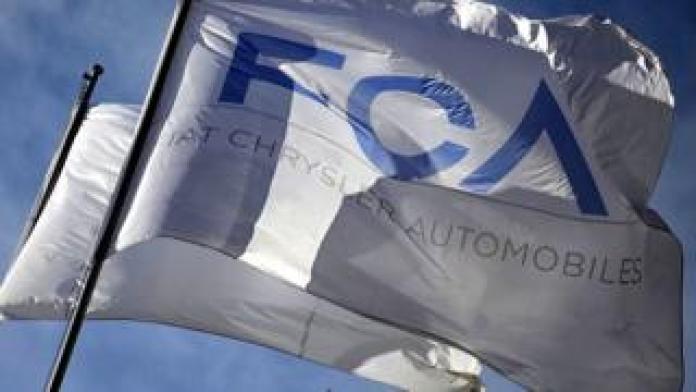 Fiat Chrysler flag