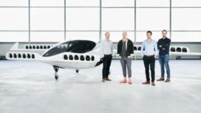 The Lilium self flying air taxi