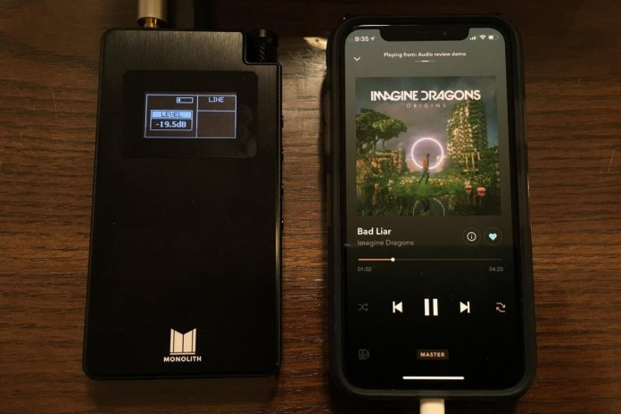 Monolith by Monoprice Portable Headphone Amp and DAC with