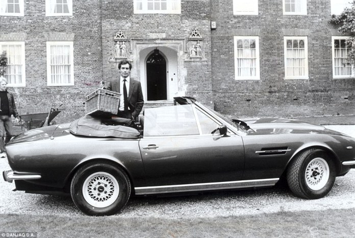 Bond 25 will also mark the return of the 1980s V8 Vantage, which first featured in The Living Daylights with Timothy Dalton as the Secret Service agent