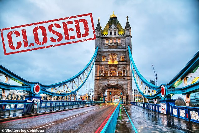 Tower Bridge will be closed to all vehicles for the day, the London mayor has confirmed