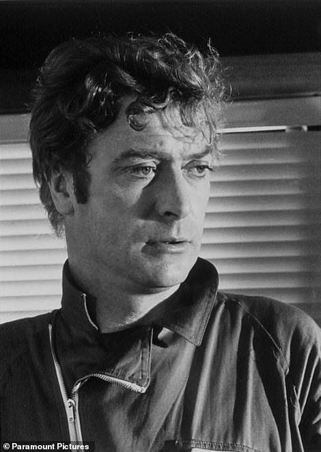 Sir Michael Caine pictured from the 1969 film