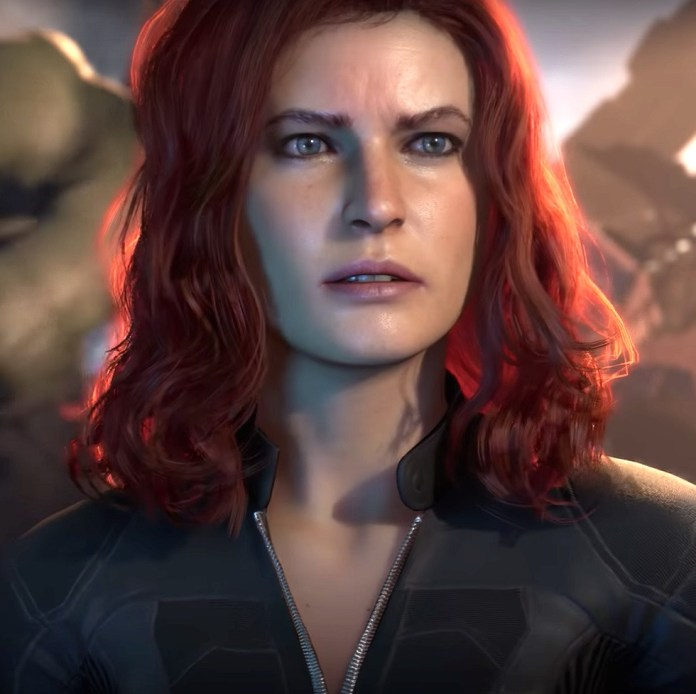 This is Black Widow, like you haven't seen her before.