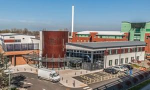Aintree University Hospital in Liverpool.