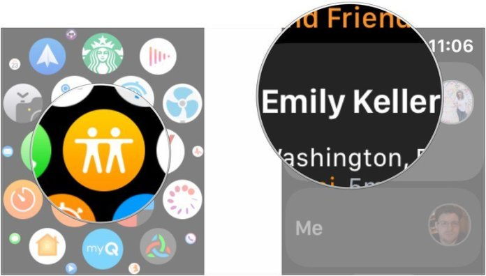 How to use Find My Friends on Apple Watch - iMore