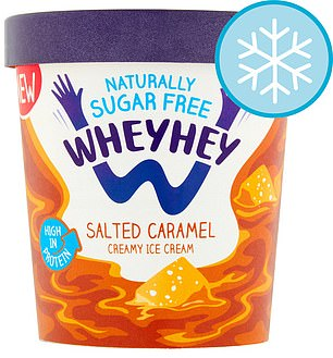 500ml, £4.20, tesco.com Per 100ml (two scoops): Calories, 76; saturated fat, 2.1g; protein, 7g; sugar, 0.5g; salt, 0.19g
