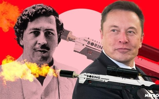 Drug baron Pablo Escobar's brother launches flamethrower war against Elon Musk
