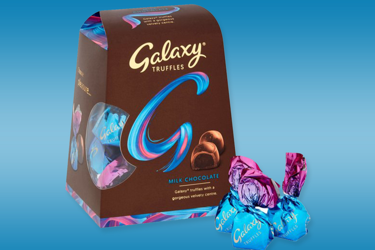 Galaxy Truffles Are Back And You Can Buy Them In Tesco