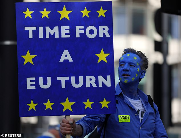 Leaver and Remainer protest placards will feature as in-game weapons