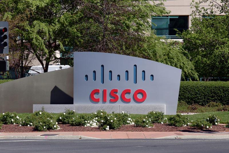 Cisco Rises 4.12%