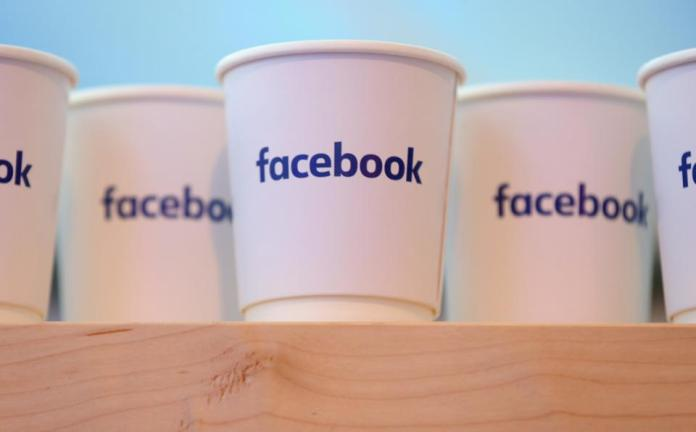 Facebook coffee cups