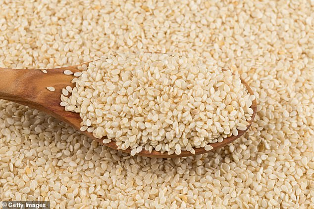 A new study from Northwestern University's Feinberg School of Medicine found that half of children and one-third of adults with a sesame allergy were self-diagnosed (file image)