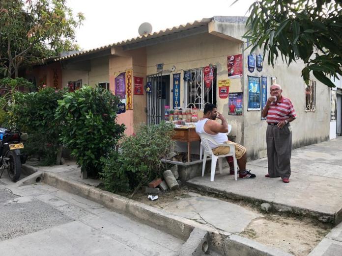 Corner store in Villas de San Pablo, Barranquilla