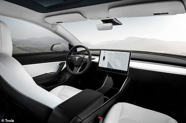 Parkers said the Tesla Model 3 isn't just a good electric car, it's a 'good car full stop'. The minimalist interior, featuring a big touchscreen on the dash, might not be to all tastes, though