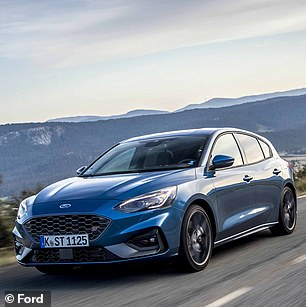 The Ford Focus scooped the Best Small Family Car prize