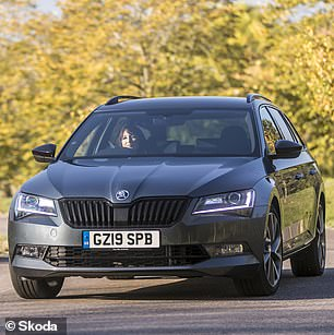The award forthe Best Large Family Car was awarded to the Skoda Superb Estate