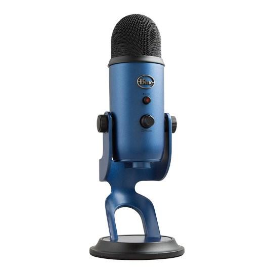 Logitech Blue Microphones Yeti USB Microphone (Amazon)