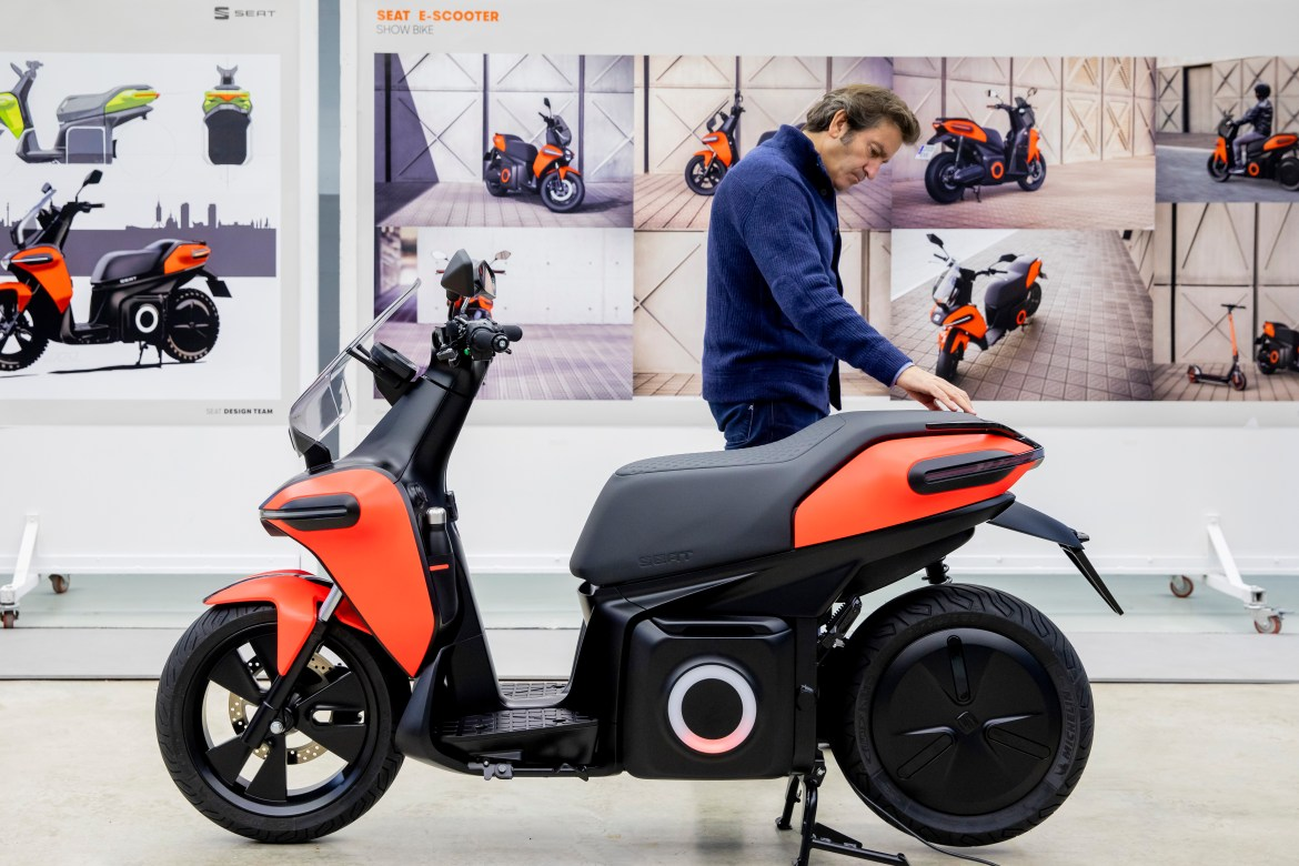 The firm is yet to confirm if the electric bike will be sold in the UK