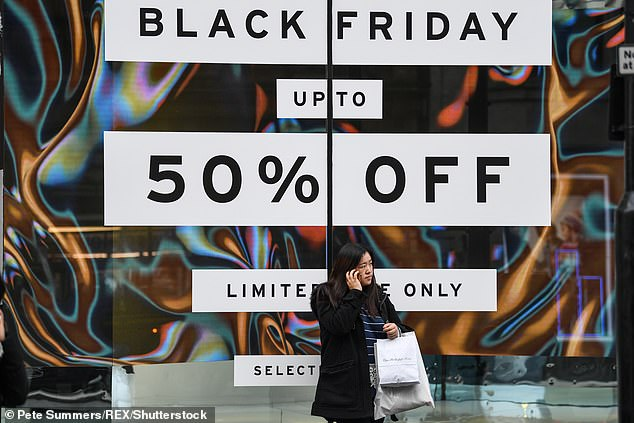 Black Friday is the biggest shopping event of the year with millions shopping in the sales (stock image)