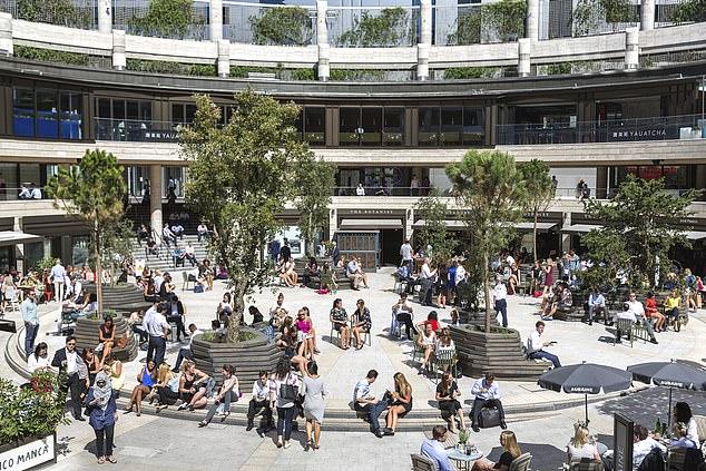 Broadgate Circle owner British Land has seen its property portfolio take a £600m hit