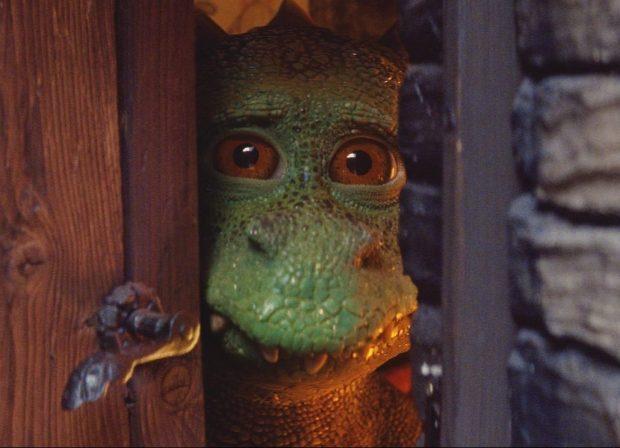 Edgar the dragon is so upset because he keeps ruining Christmas