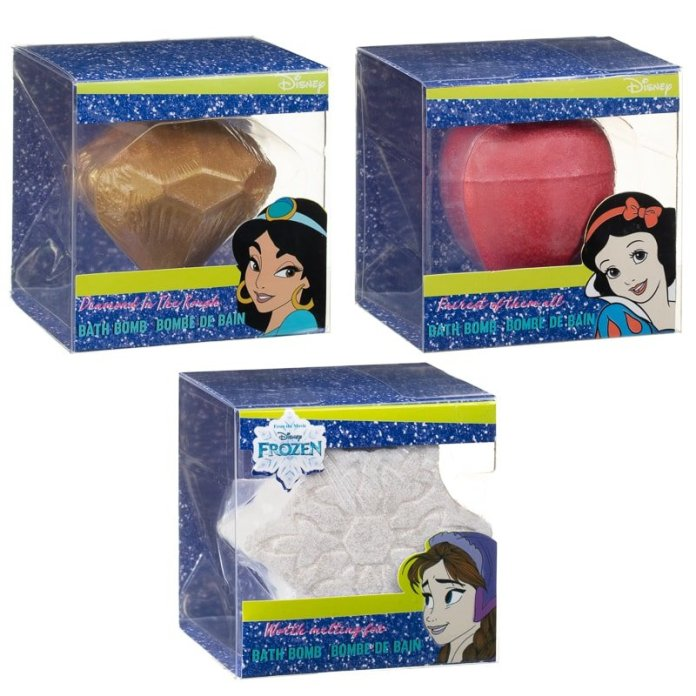 Little girls will love these Disney bath bombs at B&M - and you'll love the £2.50 price