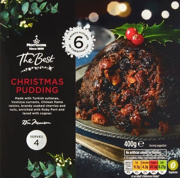 Remember making this Christmas pudding requires some ahead preparation