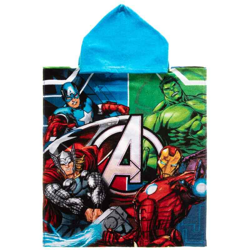 Take the hulk and Captain America to the beach with this 50p poncho